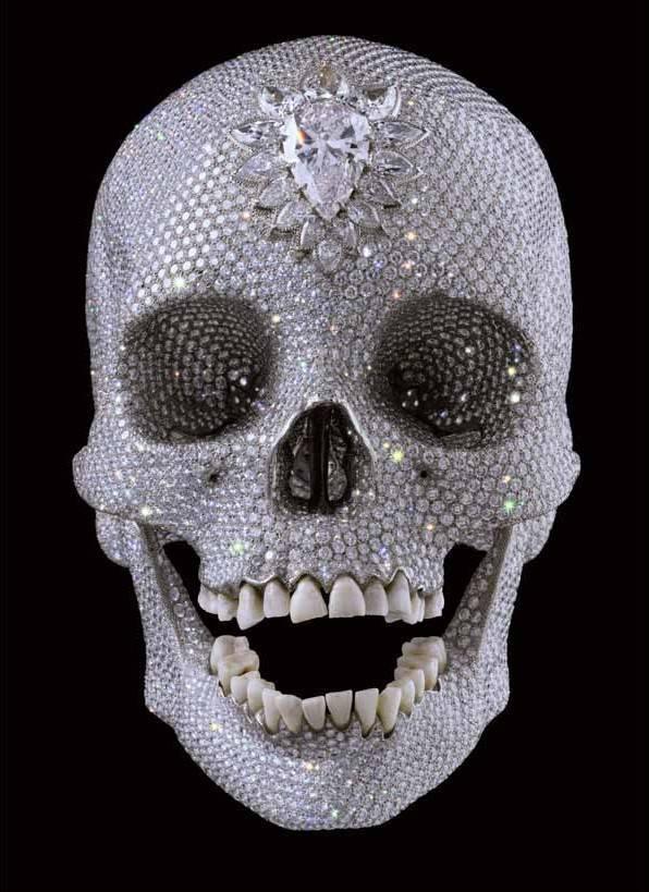 Calavera de diamantes